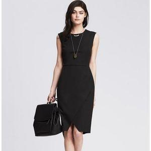 Black sloan dress